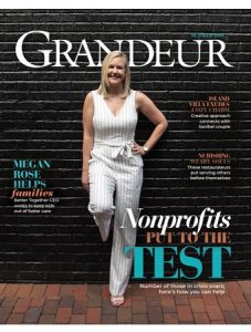 Grandeur Magazine Cover, October 2020