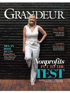 Grandeur Magazine Cover, October 2020